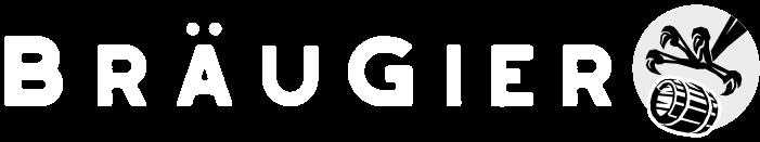 BRAEUGIER logo with white font TT